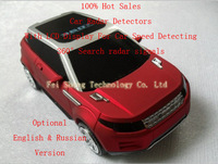 Freeshipping !!! Car Radar Detectors with Russian & English & LCD Disp0lay 360' Search Singals + Available HK Sweden  E-parcel