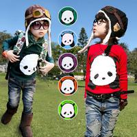 2014 spring and autumn clothing boys girls clothing baby child long-sleeve T-shirt tx-0049 basic shirt