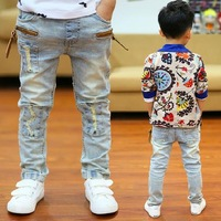 Free shipping the new boy fall 2013 children jeans trousers han edition of foreign trade children's clothing