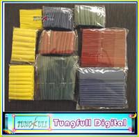 8 Sizes Heat Shrink Tubing Kit 4 Colors ,Plastic bags simple packaging 260pcs