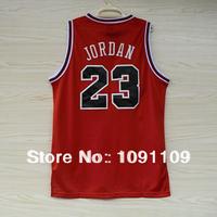 Chicago 23 Michael Jordan Throwback Basketball Jersey, Cheap Retro Basketball Jersey Michael Jordan, Vintage Red & Striped Black