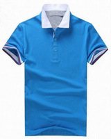 US Brand Mens Solid Golf Shirt Brand Logo Casual Sport Shirts Free Shipping Drop Shipping