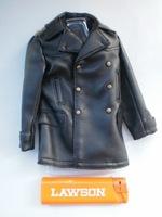 3r gm622 world war ii the german army black leather jacket outerwear belt epaulette