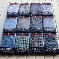 cuecas boxer Jockey male 100% aro pants cotton woven boxer shorts male panties bag 2