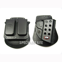 1911 holster w/ Double MAG Pouch set gun holster free shipping