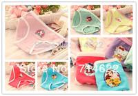 Free shipping!12pcs /lot baby Girls cartoon designs underwears children cotton short pants Kids panties