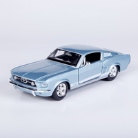 New Arrival Maisto 1:24 Scale Model car Classical FORD Mustang 1967 GT alloy car model