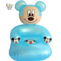 Free shipping Portable Mickey Children Sofa, Lovely Kids inflatable sofa, children's cartoon inflatable sofasofa