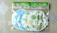 Free shipping Bamboo Maternity Washable Breast Pads Soft Cloth Nursing Pads Mix Color 10pcs/lot