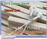 Free shipping Original xiaomi m2s 1s earphone with remote control mic in ear earphones retail to the telephone retail