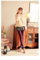 2014 fashion autumn winter leggings women Colored cotton thick warm pants