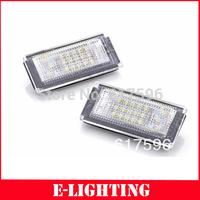 Error Free 18 SMD 6000K LED LICENSE PLATE LIGHT for MINI COOPER R50 R52 R53