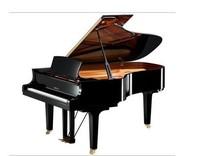 world famous free shipping luxury black grand Piano , music keyboard instrument