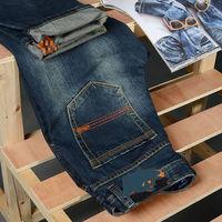 mens jeans new brand fashion brand 2014 classin Brand Men's Jeans designer Blue Jeans Hot sale autumn -summer jean MT125
