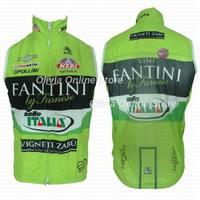 2013 Fantini  Italia Bicycle sleeveless Jacket / 2013 Fantini  Italia Cycling windbreaker vest / cycling vest