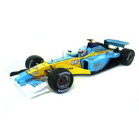 Uh eagle 2002 f1 automobile race car model gift blue gift