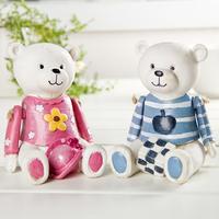 Bear Piggy Bank Home Decoration Resin Crafts. Festival Gift Dolls. Creative Cartoon Desktop Crafts. ID A0109631