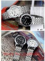 Free shipping EYKI quartz watch fashion lovers table, calendar waterproof watch fashion watch stainless steel watch