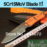 5Cr15MoV cold steel COMBAT knife fixed knife BLADE LENGTH 8.3CM (TL-02 Free shipping!)