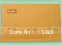 Free Shipping 11x17cm 100pcs/lot Kraft Bubble Mailers Padded Envelopes Bags CD DVD