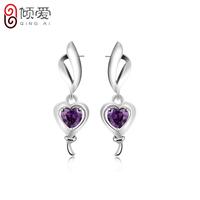 925 pure silver stud earring fly earrings ol fashion earring silver jewelry gift girlfriend gifts