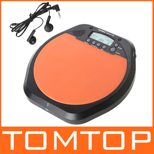 Digital Electric Electronic Drum Pad for Training Practice Metronome with Retail Package I17(China (Mainland))