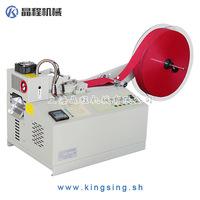Automatic Belt Cutting Machine- Hot Knife KS-110H + Free shipping by DHL/FedEx air express! Safe & Fast!