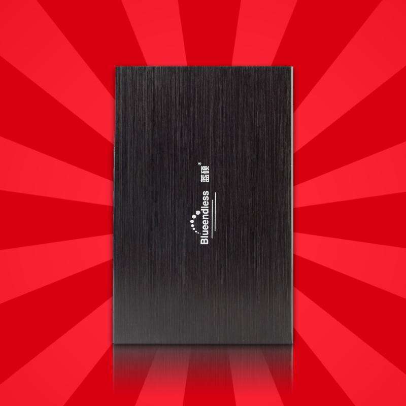 Blueendless 2.5 ultra-thin mobile hard drive 500g hard drive 500(China (Mainland))