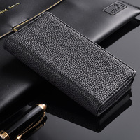 New 2014 Original Phone Accessories For Sony Xperia P LT22i! Wallet Design Litchi Grain Leather Cover Cases with Card Slots