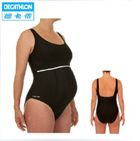 Freeshipping Decathlon piece swimsuit pregnant women / mothers conservative yards was thin fat people NABAIJI