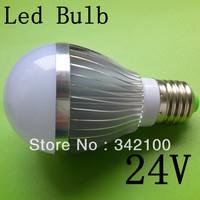 24V 10W E27 E14 B22 base type warm / cold white LED bubble ball lamp Aluminum, zinc metal alloy
