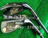 Free Shipping 2014 New Men.s Golf Club Maruman MAJESTY PRESTIGIO SUPER 7 golf irons set 4-9.P.A.S(9pc)graphite Regular shaft EMS