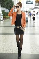 2222 women's 2013 autumn miniskirt slim hip short skirt bust skirt