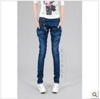 291 2013 spring plus size harem pants harem pants jeans