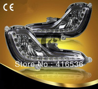 Good Quality Hyundai Accent daytime running lights Accent LED DRL Free shipping by EMS