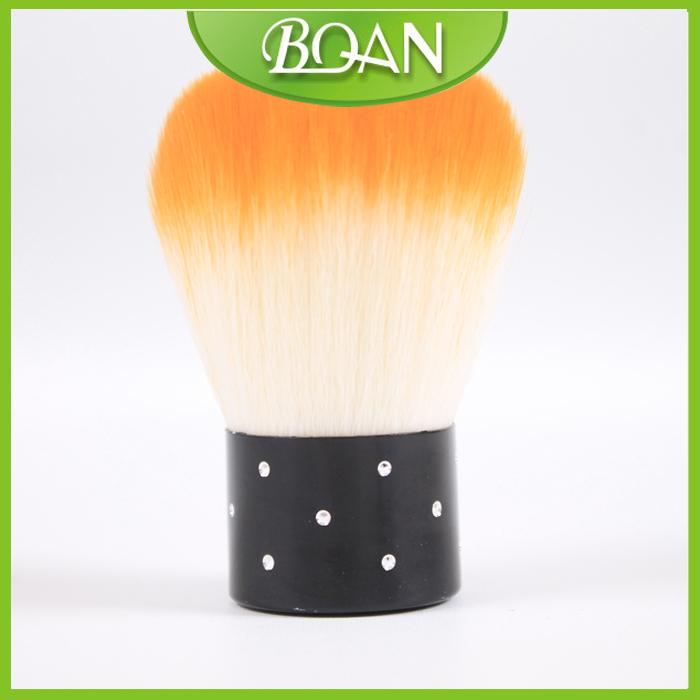 Free Shipping 10PCS/Lot Nail Kabuki Brush Shimmer Powder Brush Barber Powder Brush(China (Mainland))
