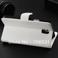 Slide Flip  Magnet PU Leather Case for Samsung Galaxy Note 3 N9000
