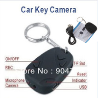 1pcs Crazy Key Chain Video Camera Smallest Pin-hole Camera Mini video hidden car key chain camera  DV Hot!
