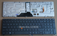 NEW For HP EliteBook 8760w 8770w Keyboard Latin Spanish Teclado backlit Pointer 638515-161