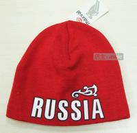 Free shipping men-women Bosco sport sochi 2014 winter Skullies autumn russia Beanieshat  double layer knitted hat plus velvet