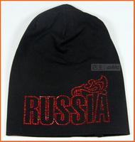 Free shipping men-women Bosco sport  sochi 2014 russia hat sparkling diamond pocket long cap hat