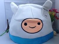Free shipping Adventure Time hat Finn men-women children accessories an cap