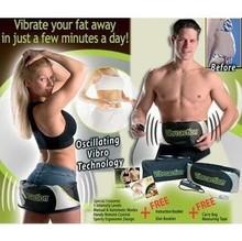 TV shopping Massager machine fat burning massage slimming machine belt weight loss equipment slimming belt(China (Mainland))