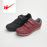 Amphiaster sport shoes amphiaster 735 male Women velcro PU breathable jogging running shoes light