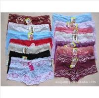 women Sexy underwear Lady Short underpants G-string Bikini Underwear Lingerie T Color Random FREE SHIPPING
