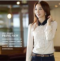 new 2014 women chiffon blouse woman clothes plus size lace blusas femininas vintage blusas women clothing shirt women blouses