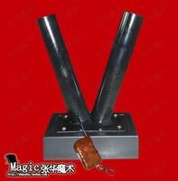 Magic props remote control single barrel macrobinocular cannon gun sparers paper snowflakes