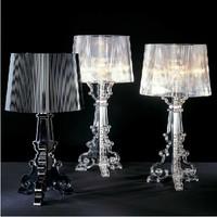 Baroque table lamp modern brief bedroom bedside lamp