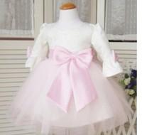 new arrival 2014 hot-selling costume sweet princess dress child performance wear female wedding dress flower girl formal dress