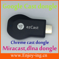 Original android tv ezcast miracast supporting in wireless communications by smartphone to cable tablet
